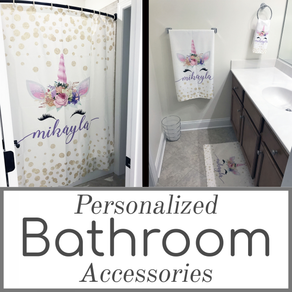 Personalized Bathroom Accessories