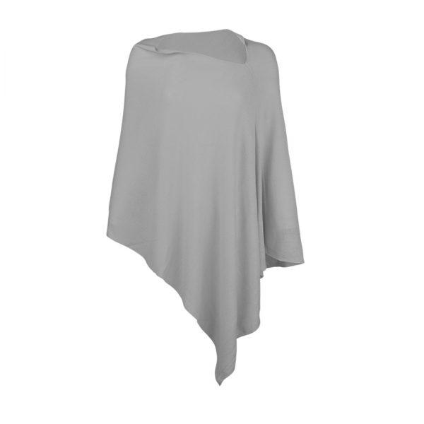 Chelsea Poncho - Grey