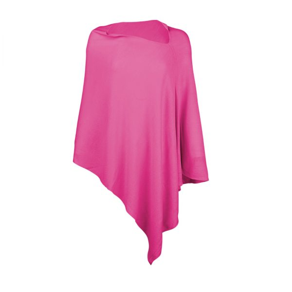 Chelsea Poncho - Hot Pink