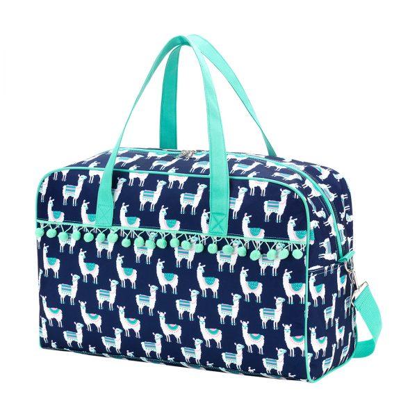 Lulu Llama Pom Pom Travel Bag