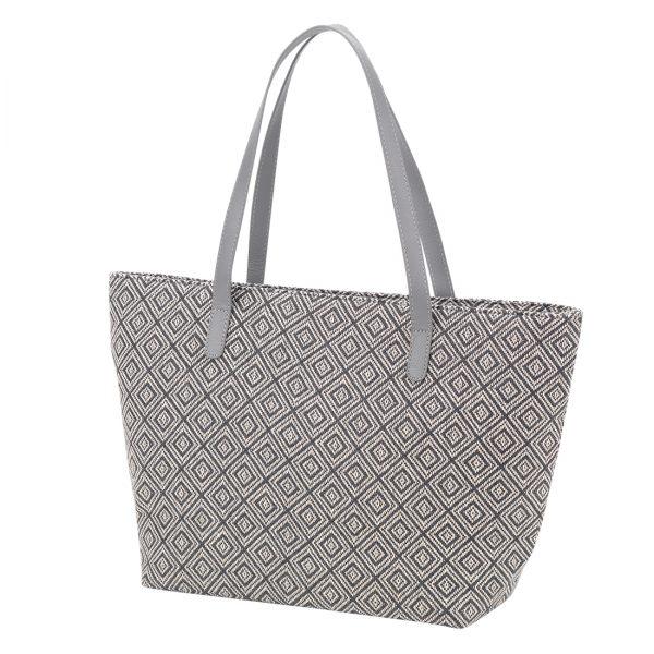 Grey Diamond Charlotte Purse
