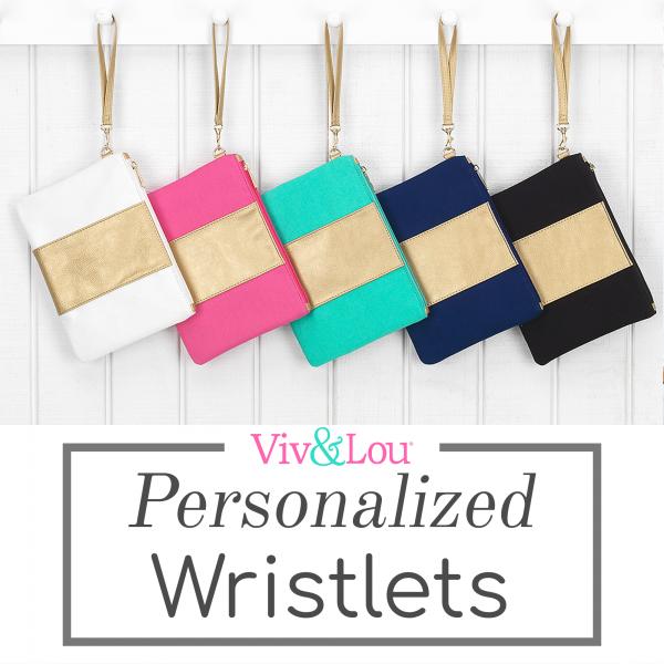 Viv and Lou Wristlets