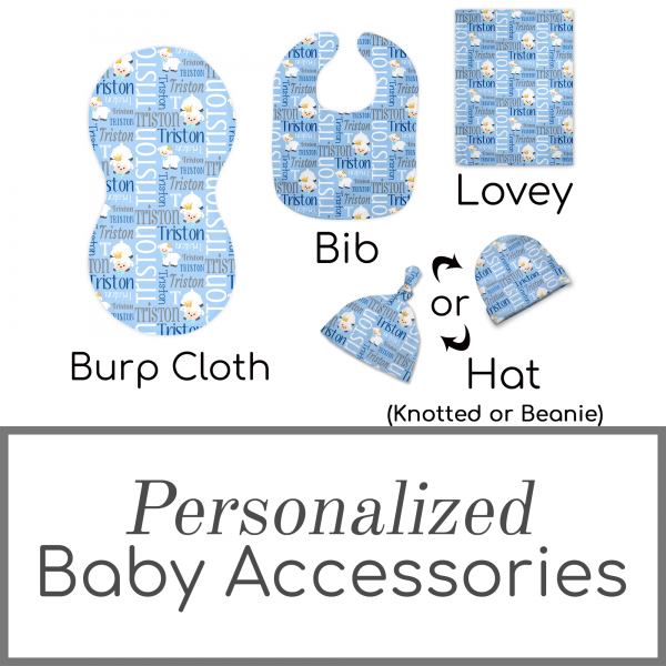 Personalized Baby Accessories